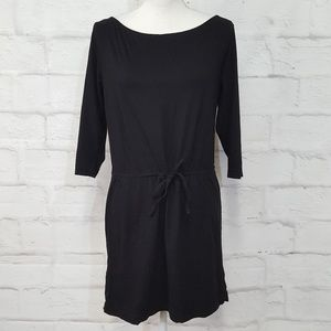 3/$30 H&M Black Cotton Relaxed Fit Dress Small